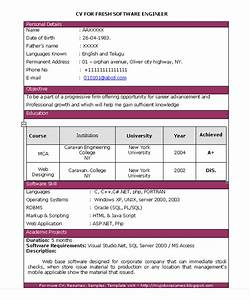 fresh jobs and free resume samples for jobs software With how to prepare resume for freshers in engineering