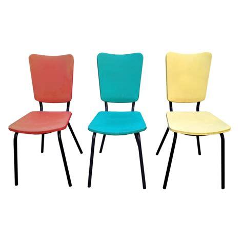 chaises cuisine chaise de cuisine retro