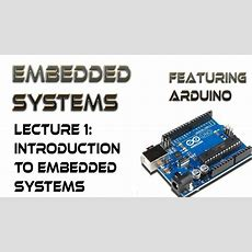 1 Introduction To Embedded Systems Youtube