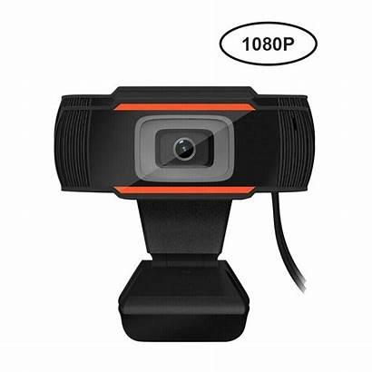 Camera Web Webcam 1080p Laptop Microphone Pc