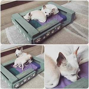 how you can create cute pet beds using pallets o 1001 pallets With what kind of paint to use on kitchen cabinets for home essentials and beyond candle holders