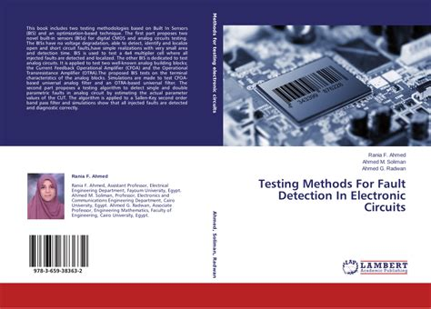 Pdf Testing Methods For Fault Detection Electronic