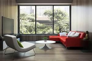 Sofa Kleines Wohnzimmer : rote sofas prachtvoll und sinnlich ~ Markanthonyermac.com Haus und Dekorationen