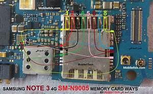 Samsung Galaxy Note 3 N9005 Mmc Ways Memory Card Solution