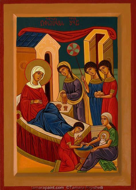 orthodox christian icon painting  georgian artist tamara rigishvili