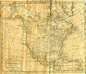 Early North America Map