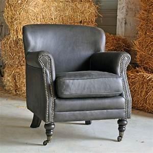 Fauteuil Crapaud Cuir : fauteuil cuir churchil pomax ~ Teatrodelosmanantiales.com Idées de Décoration