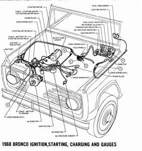 1968 Bronco Wiring Diagrams