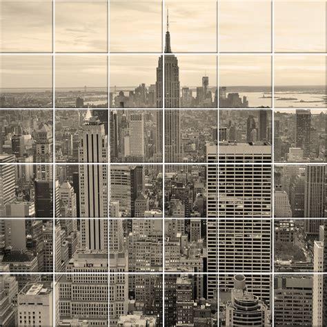 adesivi decorativi per piastrelle adesivi follia adesivo per piastrelle new york