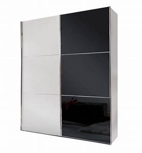 Kleiderschrank Breite 200 Cm : schwarz wei er kleiderschrank mit glas schwebet ren taipana ~ Bigdaddyawards.com Haus und Dekorationen