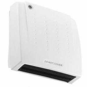 Downflow Fan Heater Bathroom Kitchen 2kw Electric Down