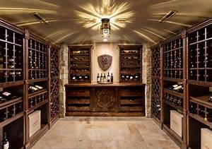 Basement Renovation - Traditional - Wine Cellar