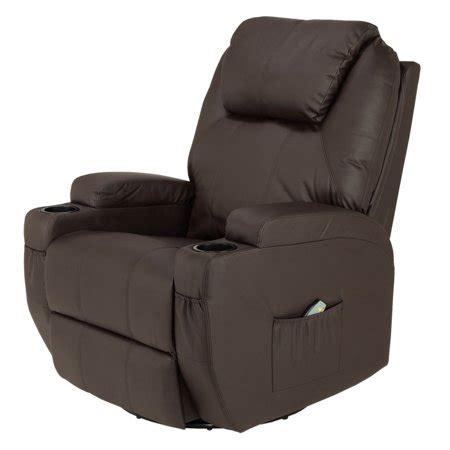 Recliner Chair Walmart by Homegear Recliner Chair With 8 Point Electric And