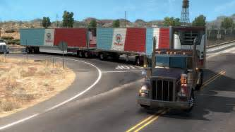 split trailers turnpike doubles scs software