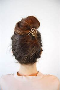 Quick And Easy Messy Bun Hairstyles Sortashion