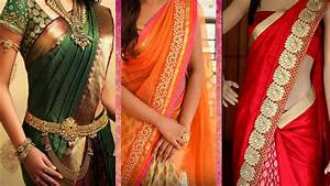 3 Different Ways of Wearing Saree to Look Slim with ...  Wearing