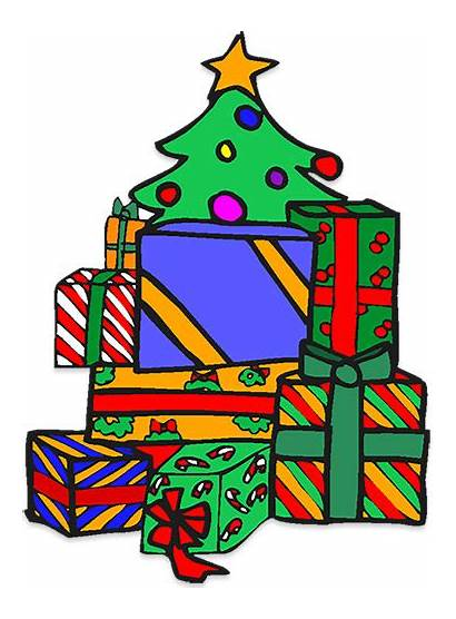 Presents Clipart Tree Gifts Animations Barely Someone