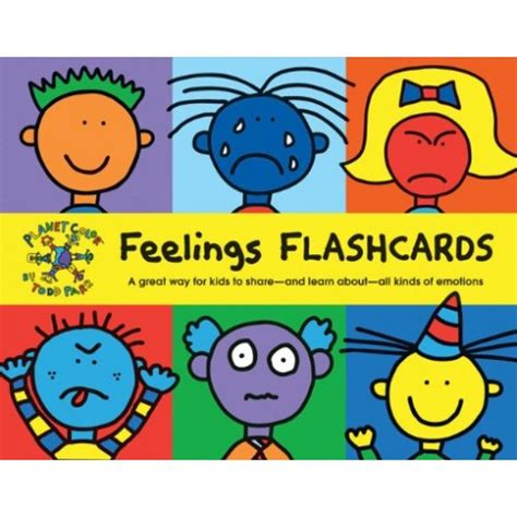 Todd Parr Feelings Flash Cards  English Wooks