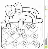 Coloring Bag Purse Handbag Ladies Template Useful 33kb 1269 1300px sketch template