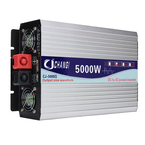 color inverter intelligent color screen sine wave power inverter 12v