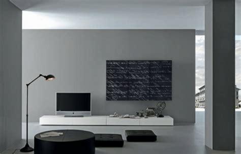 Wand Grau Wohnzimmer by Graue W 228 Nde Im Wohnzimmer