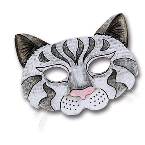 Kindermasken zum ausdrucken / ausmalbilder masken 31 ausmalbilder malvorlagen : Kindermasken Katze 6er Pack | Fasching, Masken & Kostüme ...