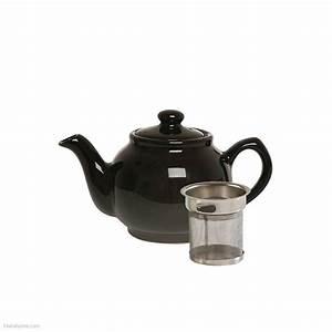 Théière Avec Tasse : noir 2 tasse th i re avec filtre ebay ~ Teatrodelosmanantiales.com Idées de Décoration