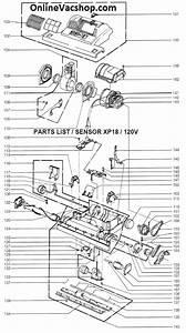 Windsor Sensor Xp18 Parts