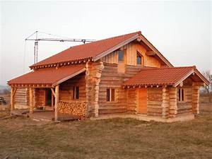 Maison Rondin Bois : maison en fustes jardi brico ~ Melissatoandfro.com Idées de Décoration