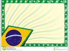 Brazilian Flag Background Royalty Free Stock Photo Image