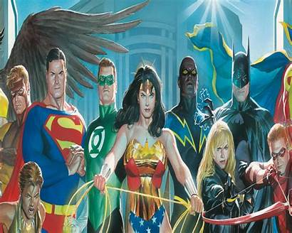 Justice Alex League Ross Desktop Comics Wallpapers