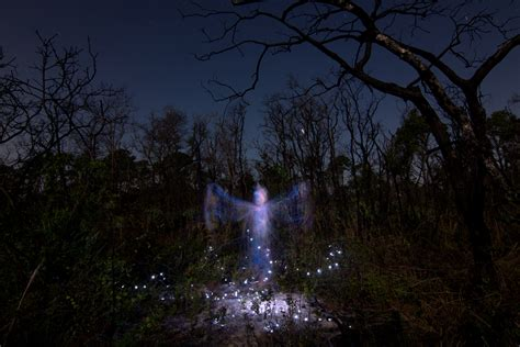 Light Painting Apparitions  Jason D Page