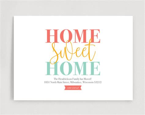 we moved cards template we ve moved new home announcement new address moving