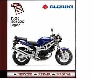 Suzuki Sv650 99-02 Service Manual