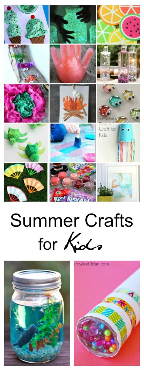 kid craft ideas 40 creative summer crafts for that are really 4791