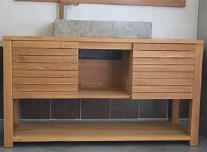 mercier carrelages meuble 02 salle de bain simple vasque With porte d entrée alu avec meuble salle de bain simple vasque pas cher