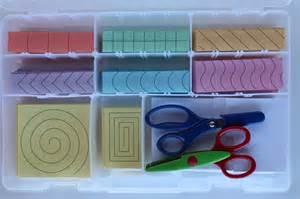 Montessori Practical Life Cutting