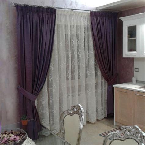 tenda con bastone tende per interno classiche