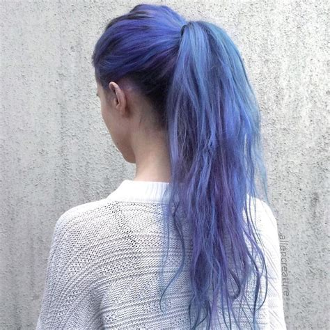 25 Best Ideas About Blue Hair Dyes On Pinterest Crazy