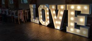 Illuminated love letters impressive events for Illuminated love letters
