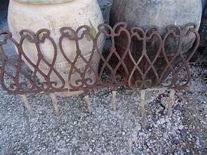 Puce De Jardin : bordures de jardin en fonte puces priv es ~ Nature-et-papiers.com Idées de Décoration