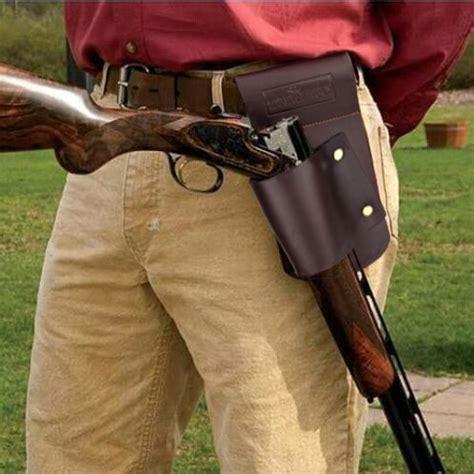tourbon hunting gun accessories gun holster waist belt shotgun rifle holder leather cm