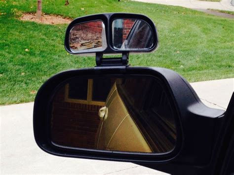 Blind Spot Mirror W/ Dual Adjustable Mirrors For Car Or