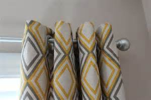 yellow gray curtains craft room decor pinterest