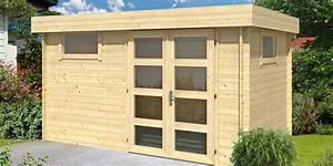 Abri De Jardin Toit Plat : abri de jardin en bois toit plat halden 12 m madriers ~ Dailycaller-alerts.com Idées de Décoration