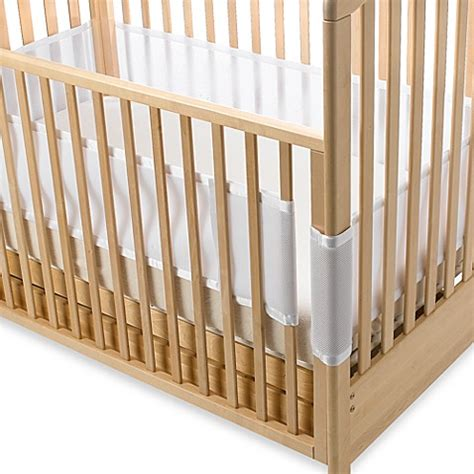 breathable mesh crib liner breathablebaby 174 breathable mesh crib liner in white
