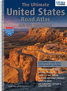 Us Maps That Can Be Edited Free The Ultimate United States Road Atlas Hema Maps Books