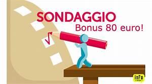 Sondaggio Bonus 80 euro Come li hai spesi? Informazioni TuttoVisure it