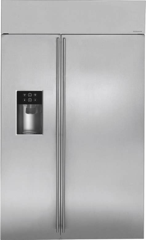 ge monogram zisbdk   counter depth side  side refrigerator   cu ft capacity