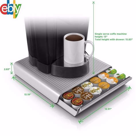 Get the best deals on coffee pod holders. Best 36 K Cup Holder Rack Storage for Keurig Coffee Pod Stand Drawer Organizer #Unbranded ...